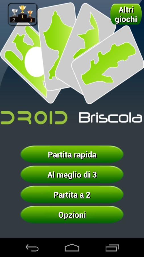 Briscola HD - screenshot