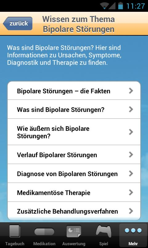 STEPS Tagebuch- screenshot