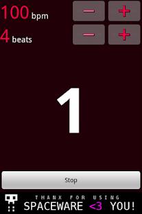 Simple Metronome- screenshot thumbnail
