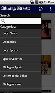 Mining Gazette - screenshot thumbnail