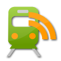 Public transport disruptions icon