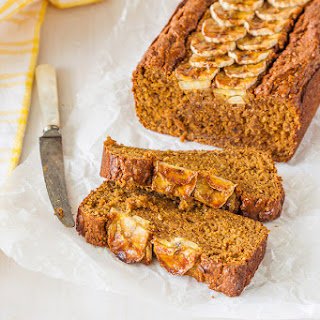 Banana & Avocado Bread - refined sugar free, butter and oil free