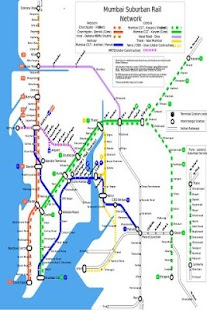 Mumbai Local Train Map- screenshot thumbnail
