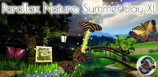Parallax Nature: Summer Day XL 3D Gyro Wallpaper per PC ...