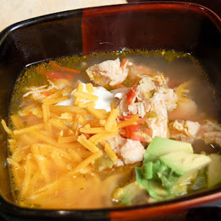 Spicy Chicken Fiesta Soup.