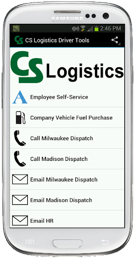 CS Logistics Driver Tools