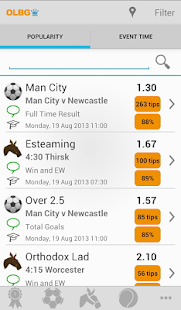 OLBG Sports Betting Tips - screenshot thumbnail