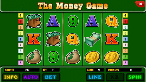 The Money Game™ Slot machine