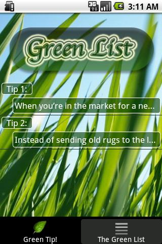 Go Green- screenshot