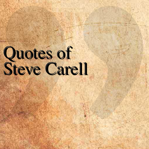 Quotes of Steve Carell LOGO-APP點子