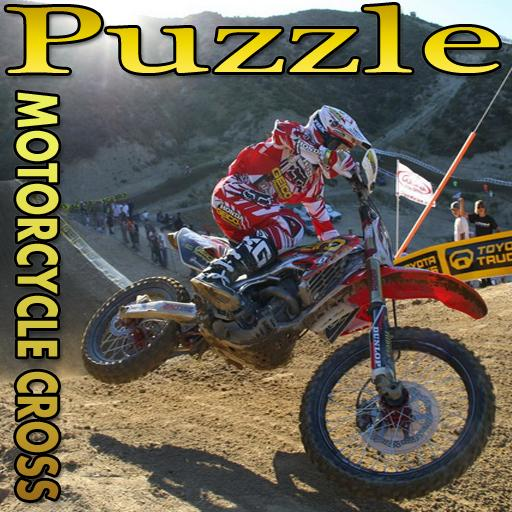 Puzzle Motorcycle Cross 3
