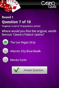 Ultimate Casino Quiz - screenshot thumbnail
