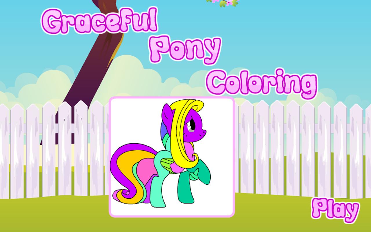 Mewarnai Anggun Pony Apk 2 0 9 Aplikasi Kasual Bebas Untuk Android