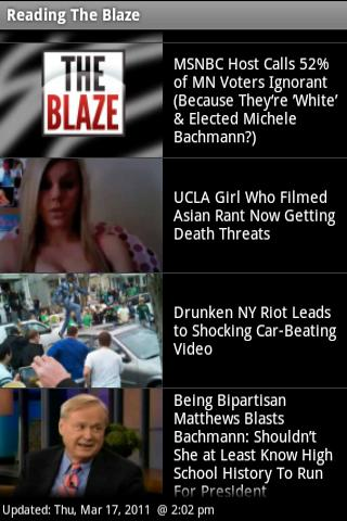 Read The Blaze - screenshot
