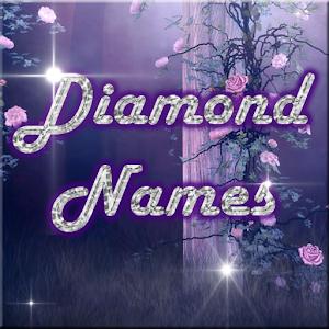 Diamond Name 個人化 LOGO-阿達玩APP
