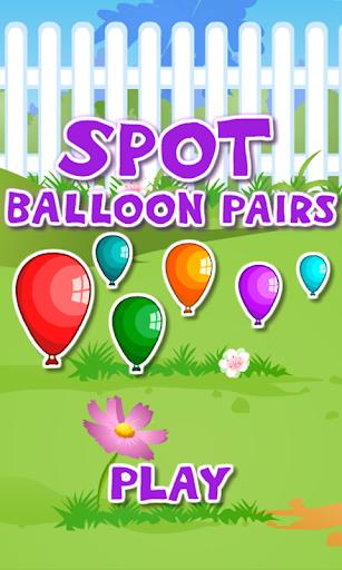 Matching Balloon Pairs