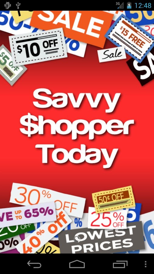HR Savvy Shopper - screenshot