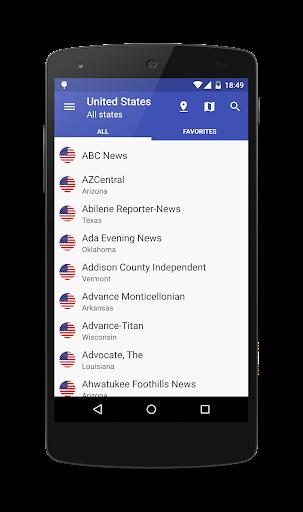 US Newspapers
