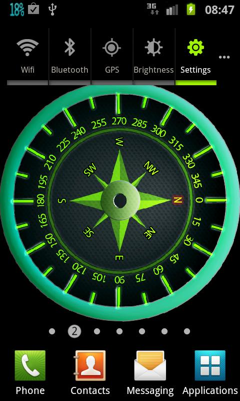 Easy Compass Live Wallpaper- screenshot