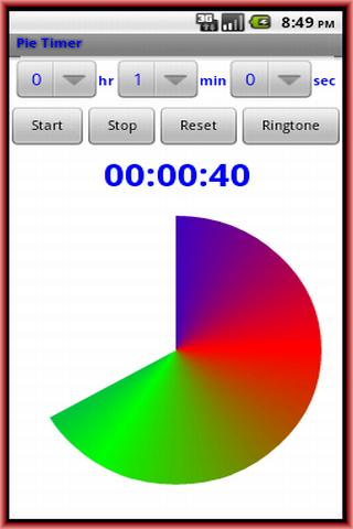 Pie Timer- screenshot