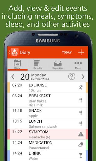 mySymptoms Food Diary Lite