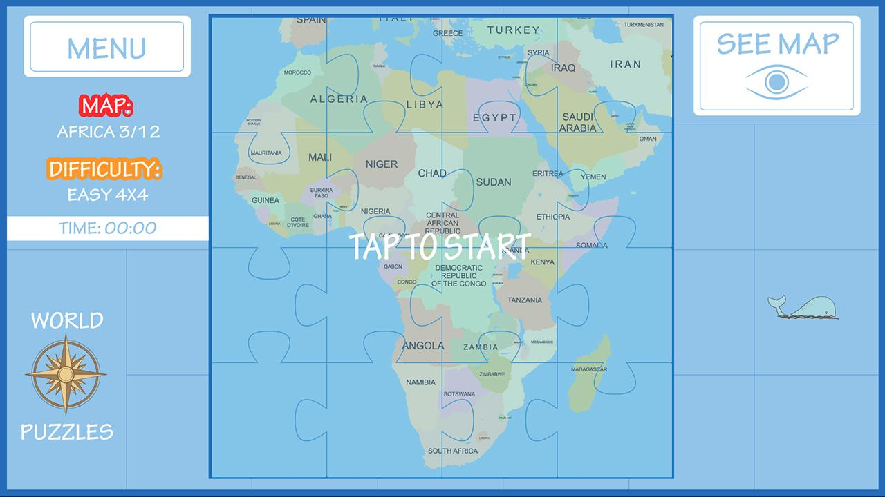 World Map Puzzle Android Apps On Google Play - World map quiz easy