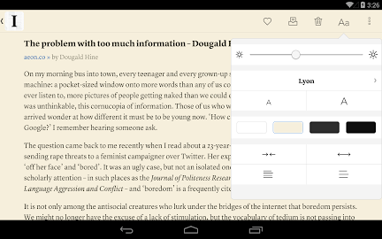 Instapaper Screenshot 10