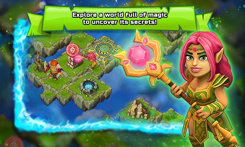 Clash of islands app android su google play