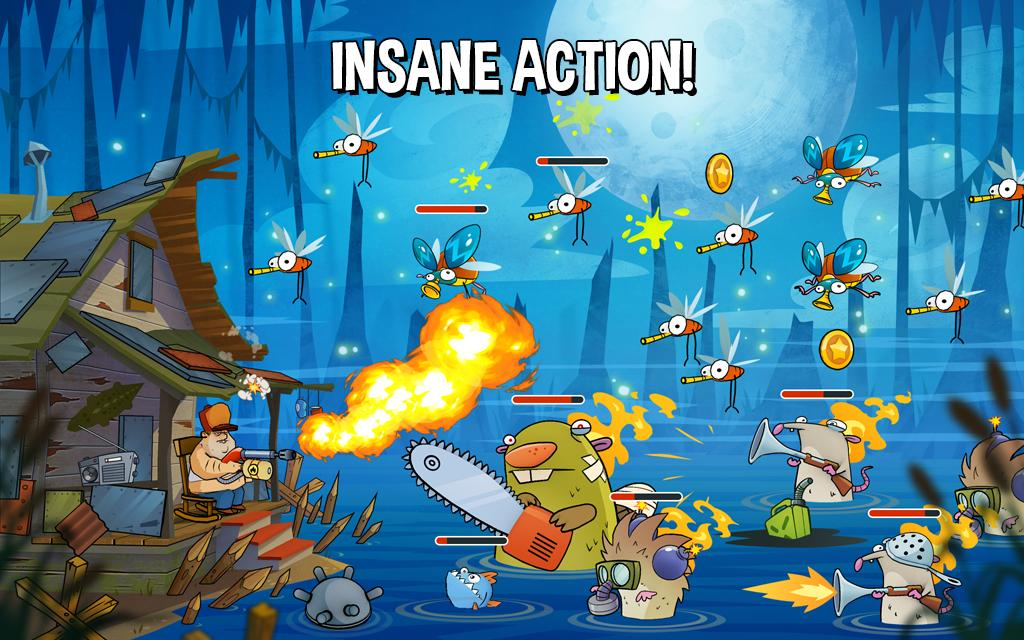 Swamp Attack- screenshot