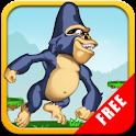 Gorilla Jump FREE logo