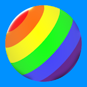 Rainbow Ball Rush Android APK Download Free By Symetrix Games