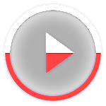 Poweramp skin KK/ICS/JB Red v1.3.1