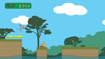 Screenshot of Dino Rush: Tap, Run & Jump
