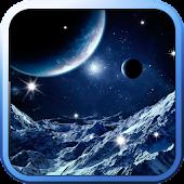 Galaxy Ice World Live Wallpape