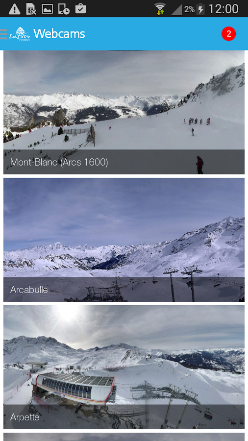 Les Arcs - screenshot