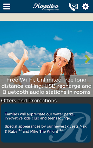 Royalton Resorts - Free Calls