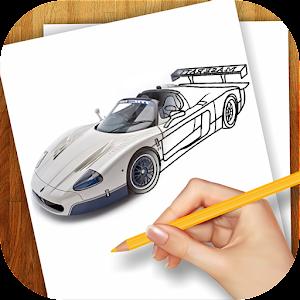 学画画超级跑车 家庭片 App LOGO-硬是要APP