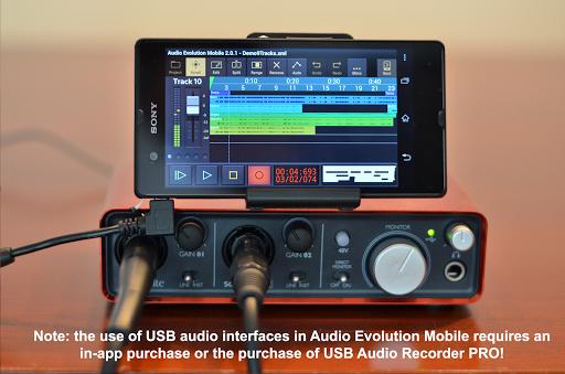 Audio Evolution Mobile Studio TRIAL  screenshots 3