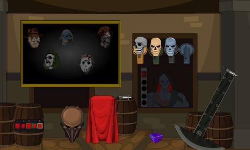 445-Halloween Bat House Escape