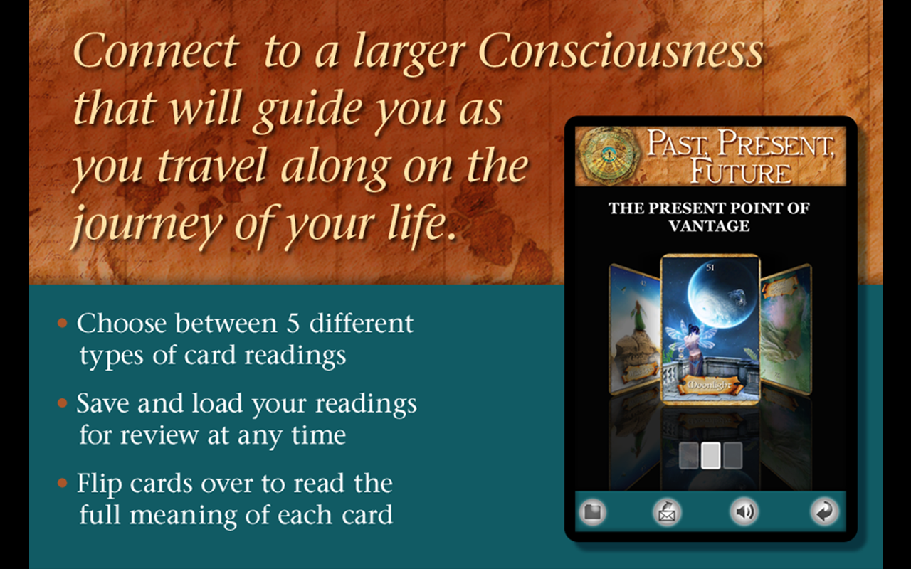 Enchanted Map Oracle Cards - screenshot