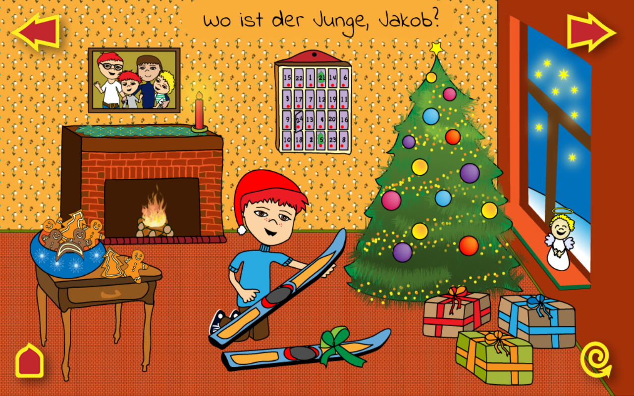 KinderApp Weihnachten – Screenshot