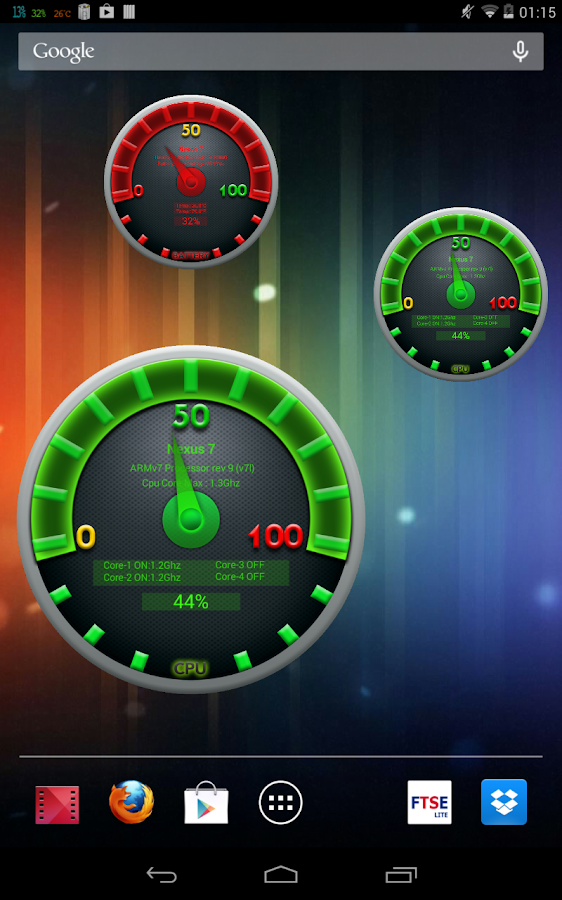 Cpu Gauge Pro - screenshot