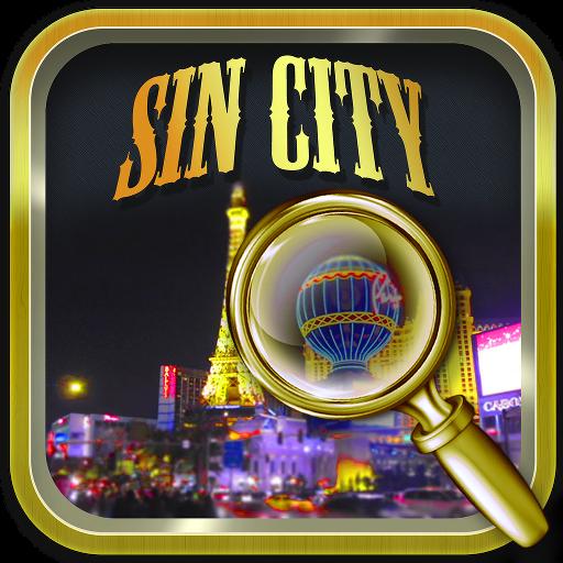 Hidden Objects Sin City LOGO-APP點子