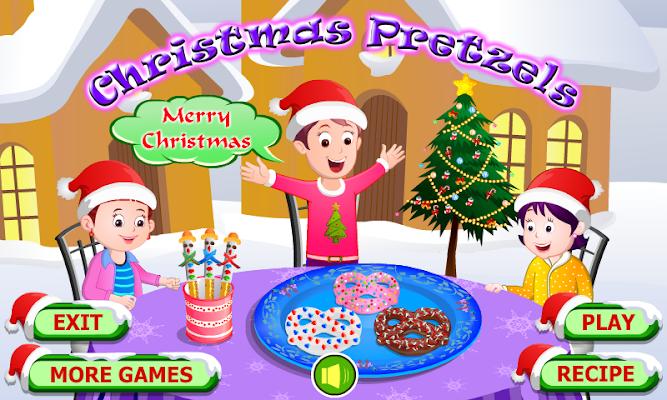 Christmas Pretzels Cooking - screenshot