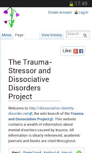 解離症及創傷壓力相關疾患