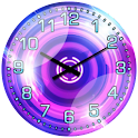 Cool Pink Neon Widget Clock! logo