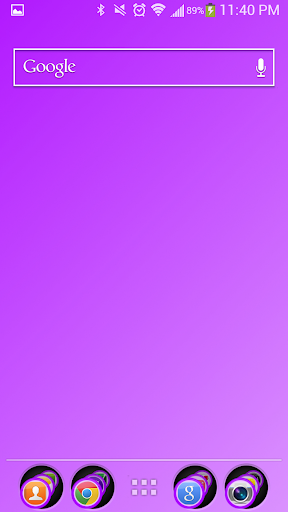 【免費個人化App】Violet Theme Nova-APP點子