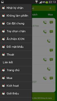 Chan cuoc goi va SMS