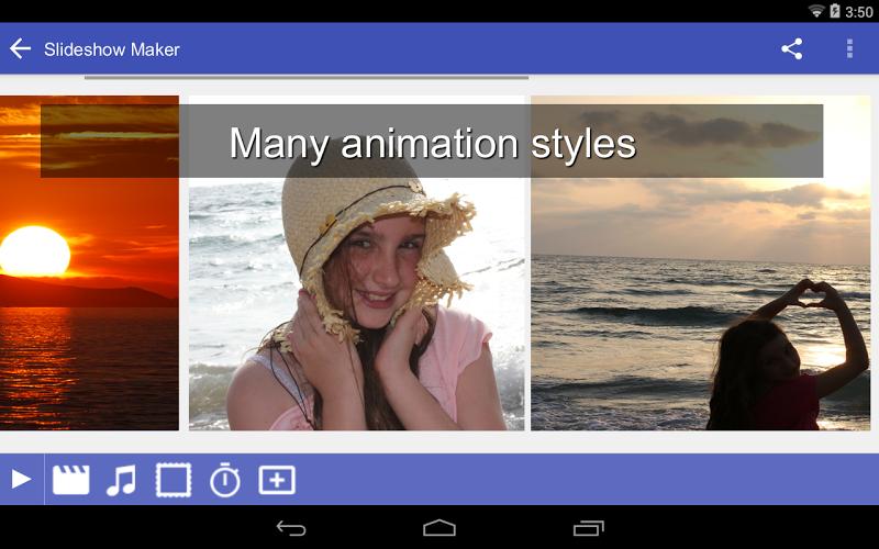 Scoompa Video - Slideshow Maker and Video Editor Screenshot 7