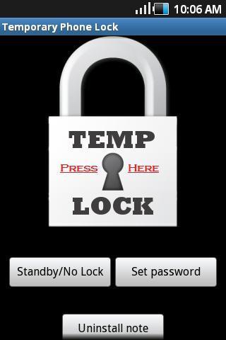 Temporary Lock - Free Trial